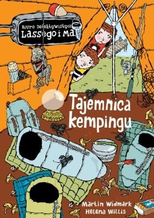 Okładka książki Tajemnica kempingu