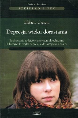 Okładka książki Depresja wieku dorastania