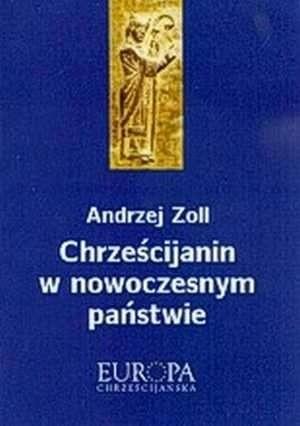 Okładka książki Chrześcijanin w nowoczesnym państwie