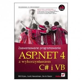 Okładka książki Zaawansowane programowanie ASP.NET 4 z wykorzystaniem C# i VB