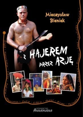 Okładka książki Z Hajerem przez Azję