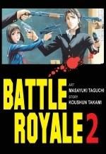 Okładka książki Battle Royale 2