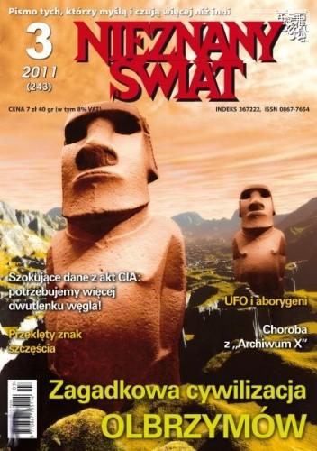 Okładka książki Nieznany Świat nr 3/2011