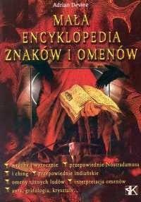 Okładka książki Mała encyklopedia znaków i omenów