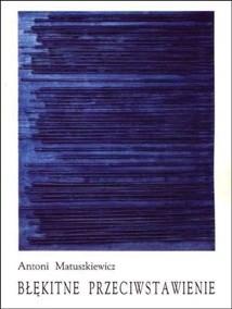 Okładka książki Błękitne przeciwstawienie