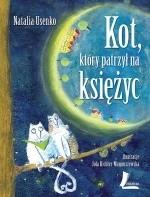 Okładka książki Kot, który patrzył na księżyc