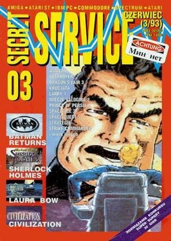 Okładka książki Secret Service 03 (czerwiec 1993)