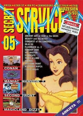 Okładka książki Secret Service 05 (wrzesień 1993)
