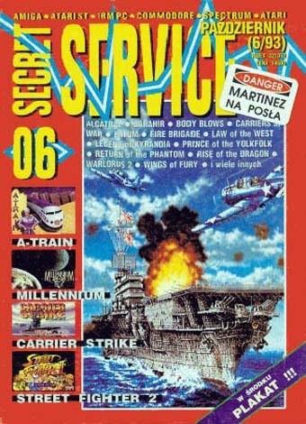 Okładka książki Secret Service 06 (październik 1993)