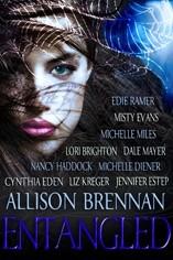 Okładka książki Entangled, a Paranormal Anthology