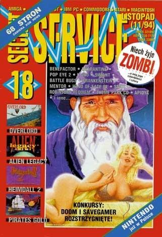 Okładka książki Secret Service 18 (listopad 1994)