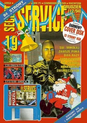 Okładka książki Secret Service 19 (grudzień 1994)