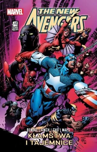 Okładka książki New Avengers: Kłamstwa i tajemnice