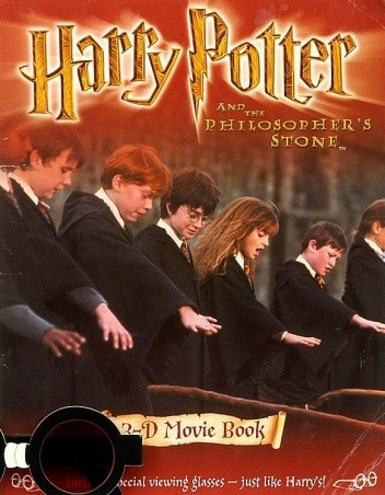 Okładka książki Harry Potter and The Philosopher's Stone: 3-D Movie Book