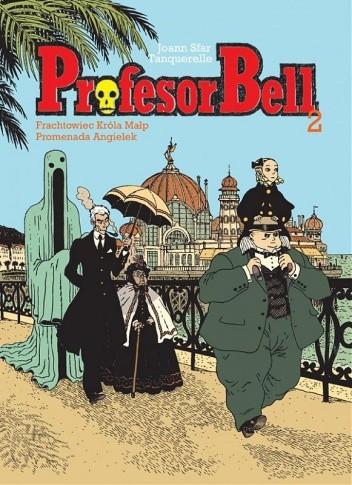 Okładka książki Profesor Bell 2: Frachtowiec Króla Małp, Promenada Angielek