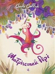 Okładka książki Małpiszonek Pipi