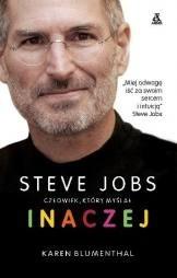 Okładka książki Steve Jobs człowiek, który myślał inaczej