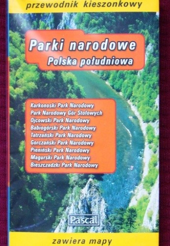 Okładka książki Parki narodowe. Polska południowa