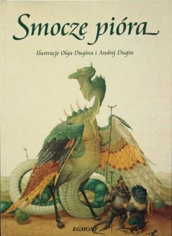 Okładka książki Smocze pióra
