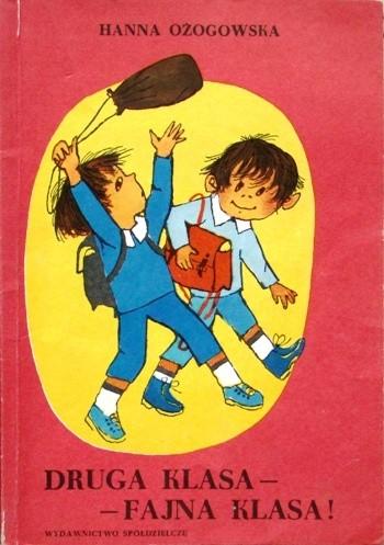 Okładka książki Druga klasa – fajna klasa!
