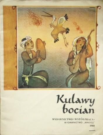 Okładka książki Kulawy bocian