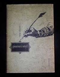 Okładka książki Pismo i Styl