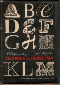 Okładka książki Technika Liternictwa