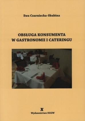 Okładka książki Obsługa konsumenta w gastronomii i cateringu