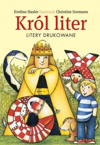 Okładka książki Król liter. Litery drukowane