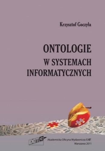 Okładka książki Ontologie w systemach informatycznych