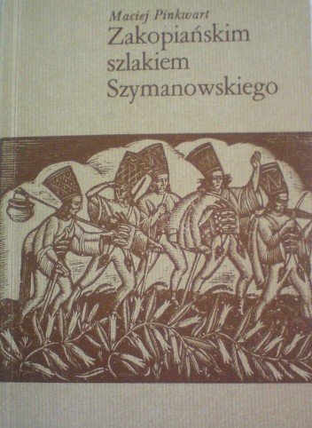 Okładka książki Zakopiańskim szlakiem Szymanowskiego