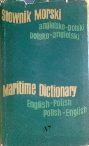 Okładka książki Słownik morski angielsko-polski, polsko-angielski