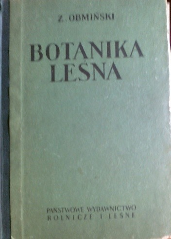 Okładka książki Botanika leśna