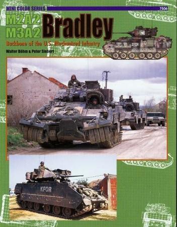 Okładka książki M2A2/M3A2 Bradley: Backbone of the U.S. Mechanized Infantry