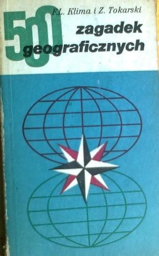Okładka książki 500 zagadek geograficznych