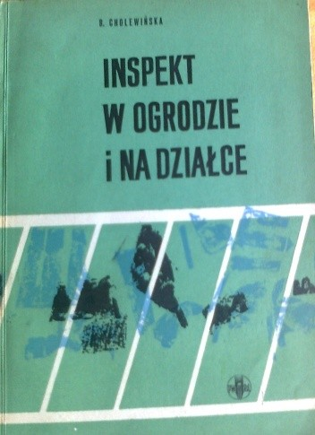 Okładka książki Inspekt w ogrodzie i na działce