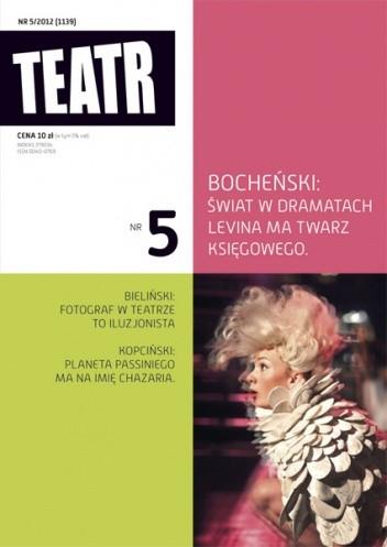 Okładka książki Teatr Nr 5/2012 (1139)