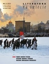 Okładka książki Literatura na Świecie nr 01-02/2012 (486-487)