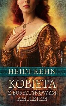 Okładka książki Kobieta z bursztynowym amuletem