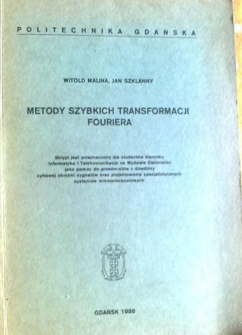 Okładka książki Metody szybkich transformacji Fouriera