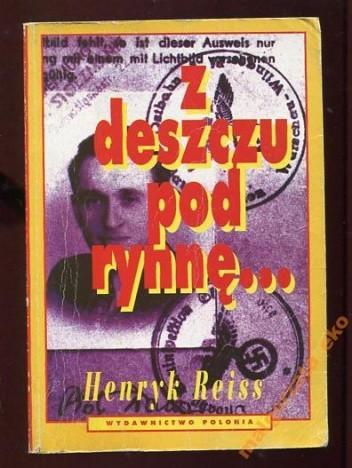Okładka książki Z deszczu pod rynnę...