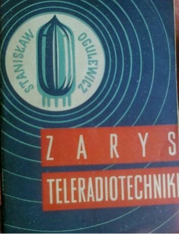 Okładka książki zarys teleradiotechniki