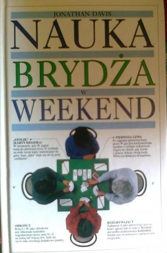 Okładka książki Nauka brydża w weekend