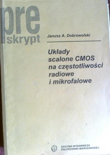 Okładka książki Układy scalone CMOS na częstotliwości radiowe i mikrofalowe