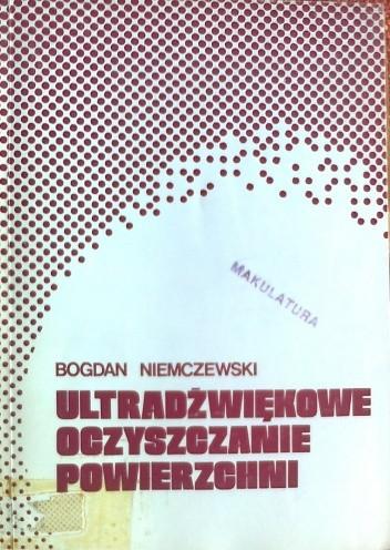 Okładka książki Ultradźwiękowe oczyszczanie powierzchni