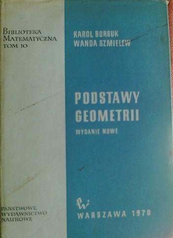 Okładka książki Podstway geometrii
