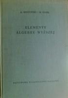 Elementy algebry wyższej