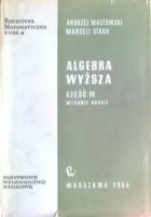 Algebra wyższa, część III