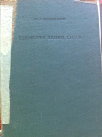 Okładka książki Elementy teorii liczb