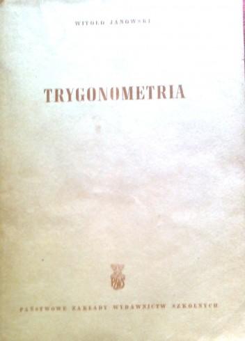 Okładka książki Trygonometria